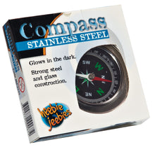 Load image into Gallery viewer, Heebie Jeebies | Compass Stainless Steel