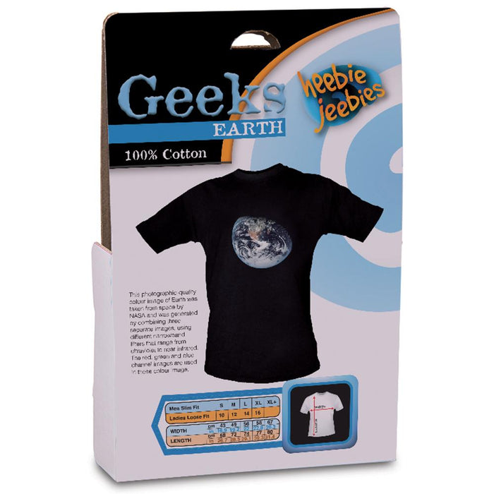 Heebie Jeebies | Earth Shirt With Picture