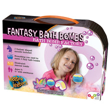 Load image into Gallery viewer, Heebie Jeebies | Fantasy Bath Bomb Bathroom Science Kit