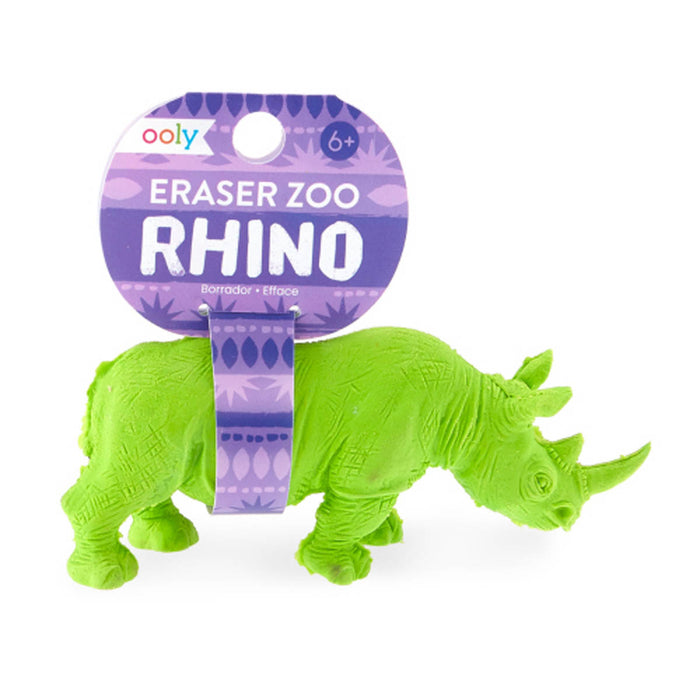 Rhino Shaped Eraser