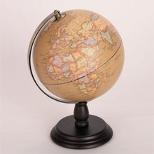 Load image into Gallery viewer, 20cm Antique Wooden Base World Globe