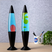 Load image into Gallery viewer, Lava Lamp | Blue & Yellow