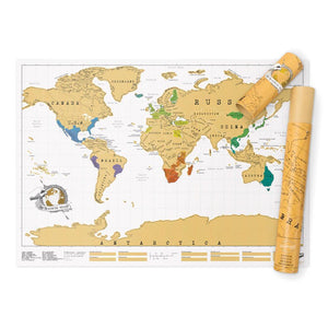 Luckies Scratch Map