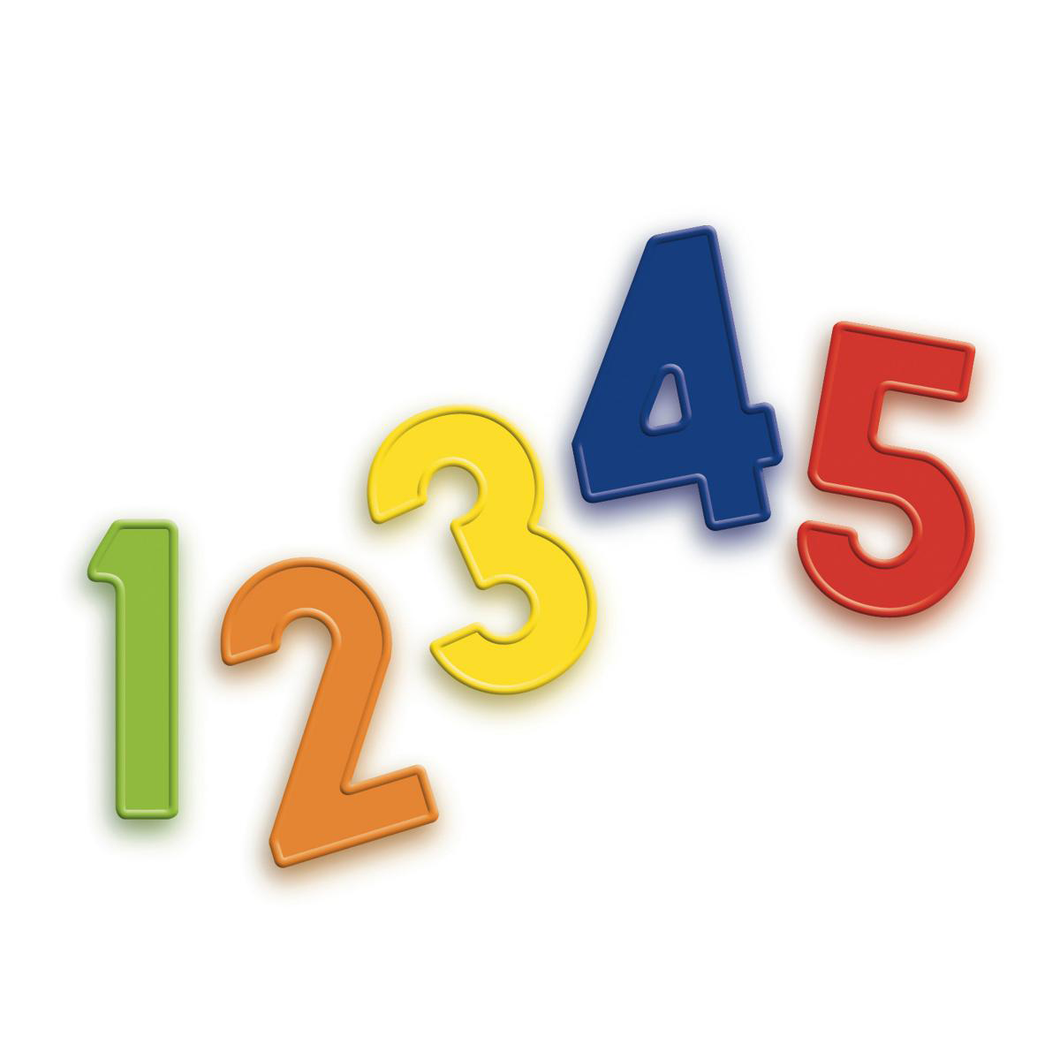 Quercetti | Magnetic Numbers Fridge Magnets