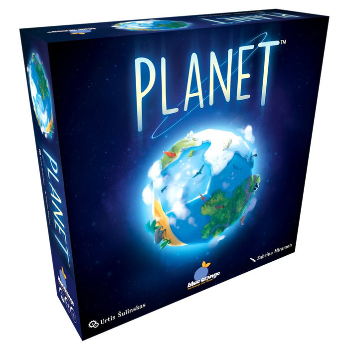 Planet 3D Board Game