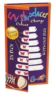 Chameleon | Uv Shoelaces Colour Change