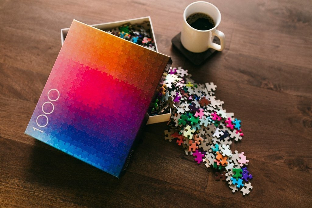 Clemens Habicht | 1000 Colours Puzzle The Original