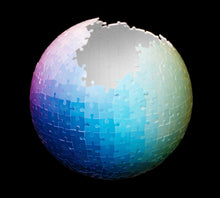 Load image into Gallery viewer, Clemens Habicht | 540Pc Jigsaw Puzzle 3D Colour Sphere Puzzle