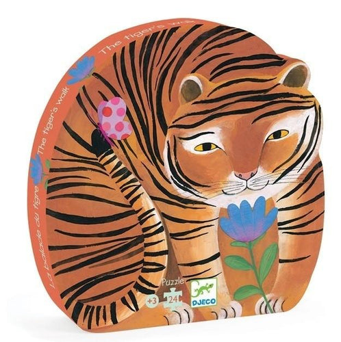 Djeco | Tigers Walk 24 Pc Puzzle
