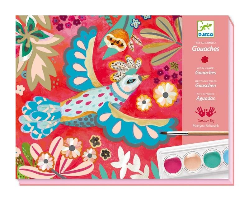 Djeco | Gouaches Melody Painting Set