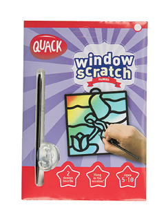 Quack | Window Scratch Fairy