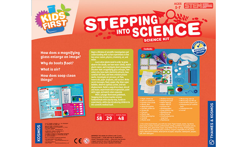 Thames and Kosmos | Stepping into Science | 29 Experiments