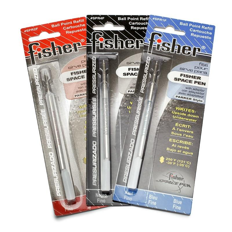 Fisher | Black Medium Refill