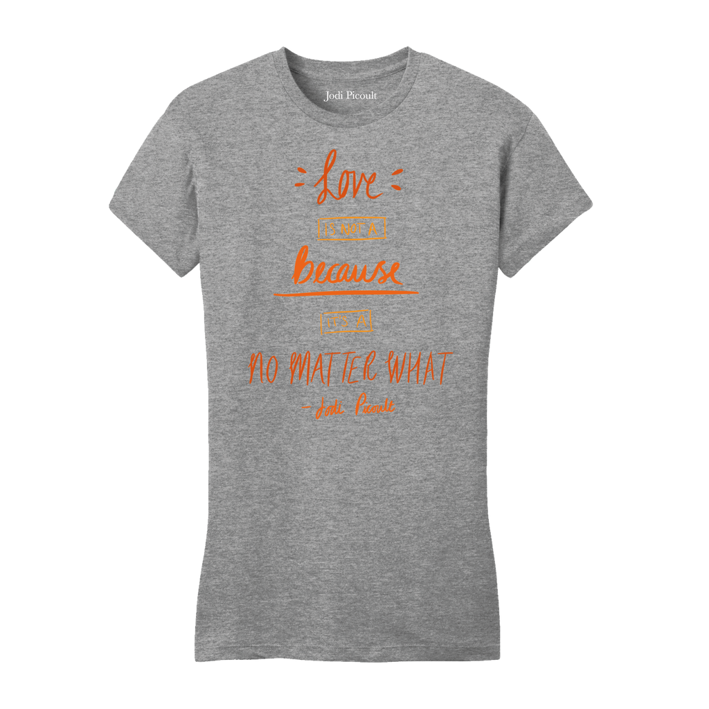 No Matter Quote Autumn Women's T-Shirt Grey