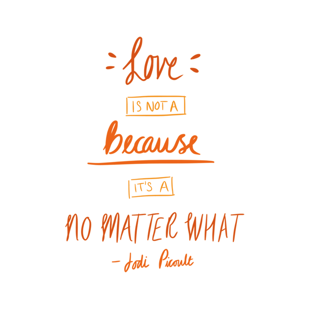 No Matter What Quote Poster