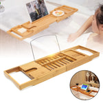 Luxury Bamboo Bath Shelf Tray