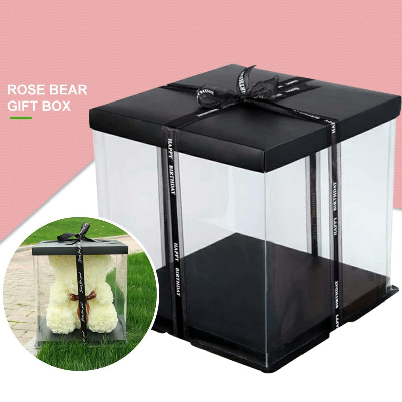 ROSE BEAR GIFT BOX