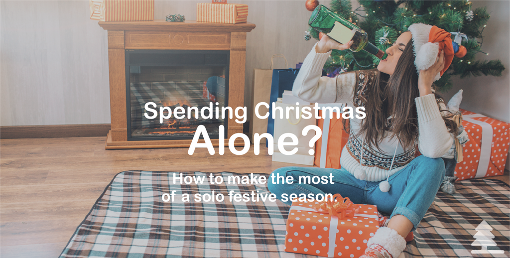 Spending Christmas Alone?  How to make the most of a solo festive season.