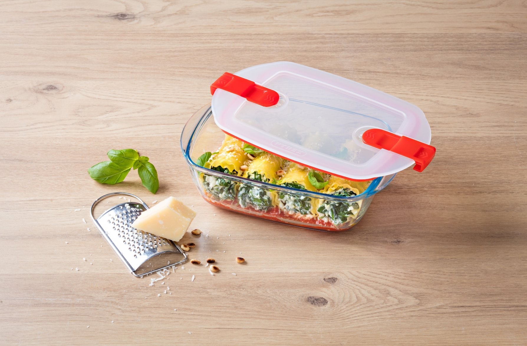 Glass containers - microwave safe lids