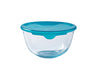 Prep & Store Glass Bowl High resistance with lid