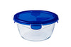 Cook & Go Glass Round dish with lid