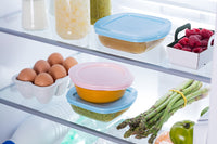 My First Pyrex - Square Baby Food Storage Blue