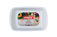 Supreme Pure white Rectangular roaster - Ceramic