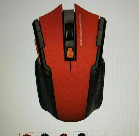 2.4 Ghz Wireless Optical Mouse Gamer - accessories