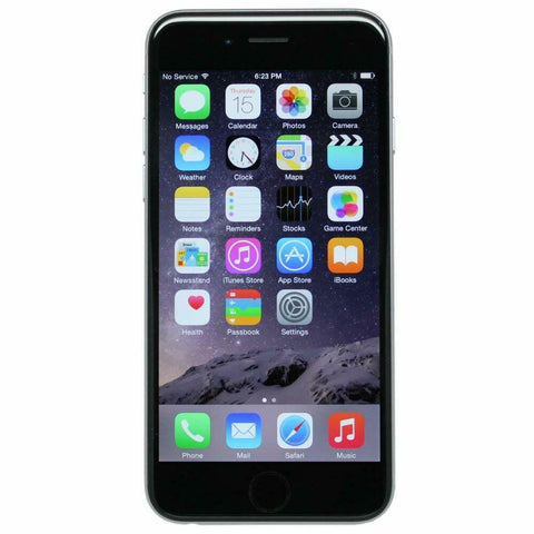 Apple iPhone 6 - 32GB - Space Gray - StraightTalk) - Smartphones