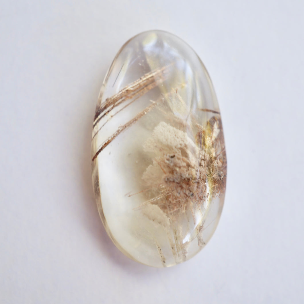 Bahia Gold Gem Cut Cabochon