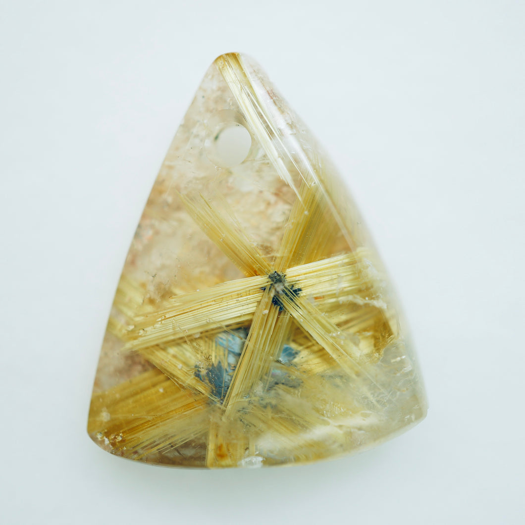 Bahia Gold Gem Cut Star