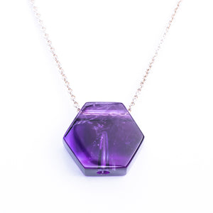 Amethyst Hexagon AromaJewel