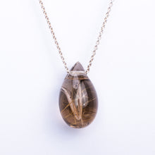 Smokey Rutilated Quartz AromaJewel Drop