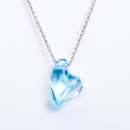 Aquamarine Swing Heart AromaJewel