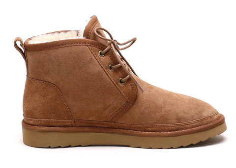 Oliver Lace-up Sheepskin Boot