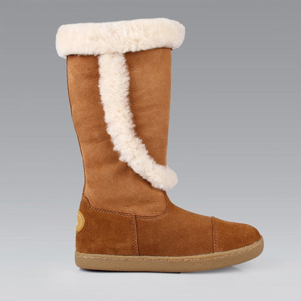 Emily - Chestnut / 35 - Shoes Yellow Earth Australia Sale Tall Boot Ugg