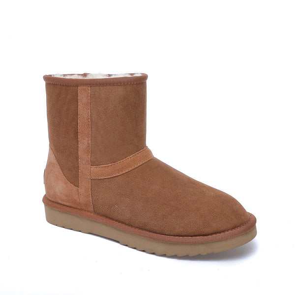 Byron UGG Boots - Flex Sole - 100% Australian Sheepskin Boot-Footwear-Y.E. & CO-Chestnut-W5-Yellow Earth Australia