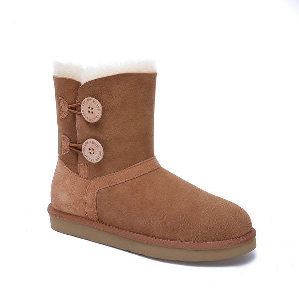 Harper - Classic 2 Button Ugg Boot-Footwear-Yellow Earth Australia-Yellow Earth Australia
