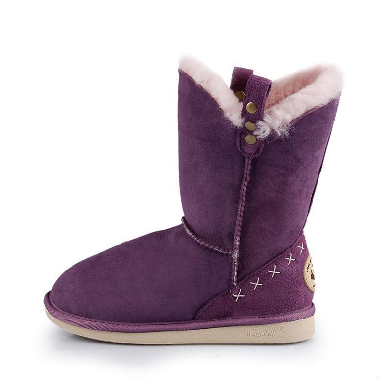GRACE MID - PURPLE / 35 - Footwear Yellow Earth Australia 3/4 boot low boot sheepskin UGG
