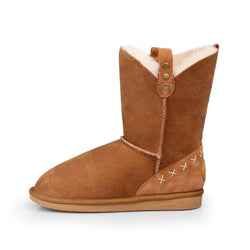 GRACE MID - CHESTNUT / 35 - Footwear Yellow Earth Australia 3/4 boot low boot sheepskin UGG