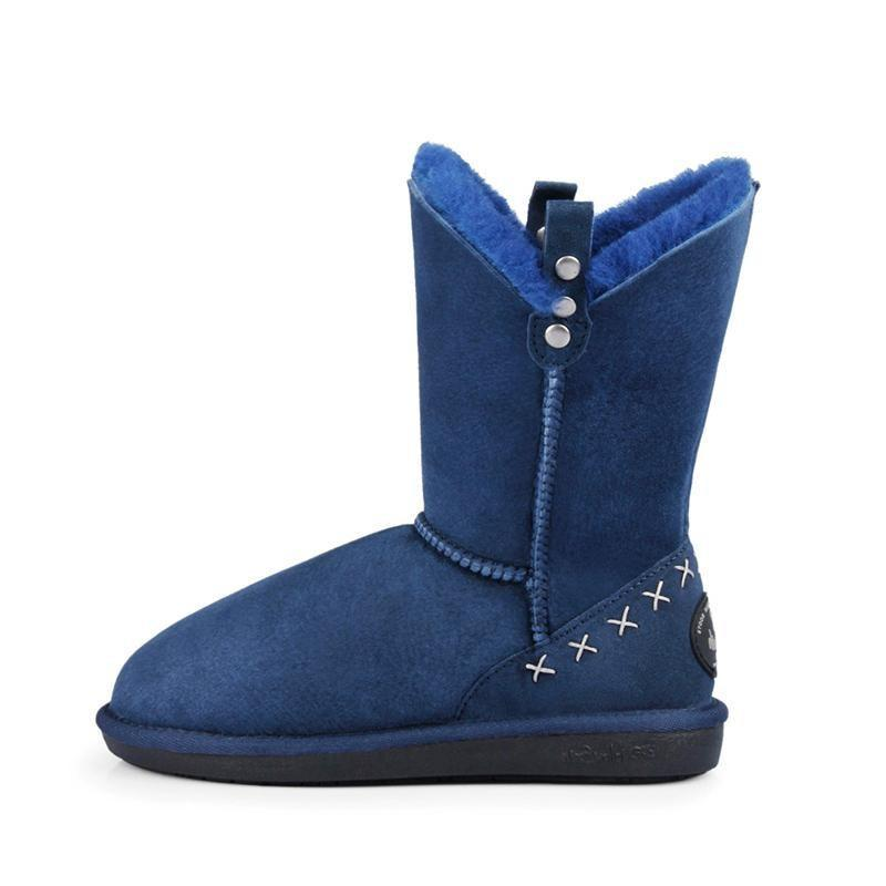 GRACE MID - NAVY BLUE / 35 - Footwear Yellow Earth Australia 3/4 boot low boot sheepskin UGG