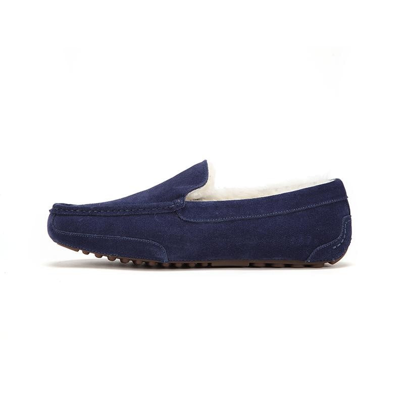 TOBY - Navy Blue / 40 - Footwear Yellow Earth Australia loafers,mens,shoes,slip ons,slippers