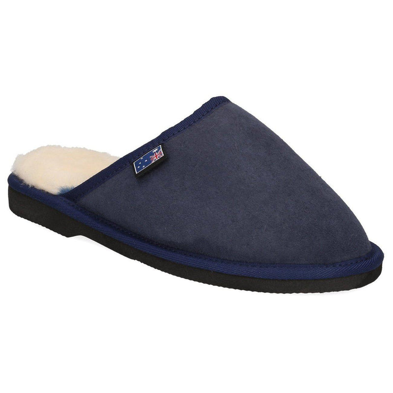 Men's Scuff EVA Slippers - NAVY BLUE / 10 - Footwear Yellow Earth Australia