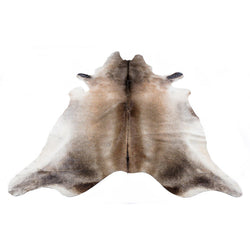 Silver Beige - Beige & White Coloured Large Premium Cowhide Rug - Skin Yellow Earth Australia cow hide, indoor, rug
