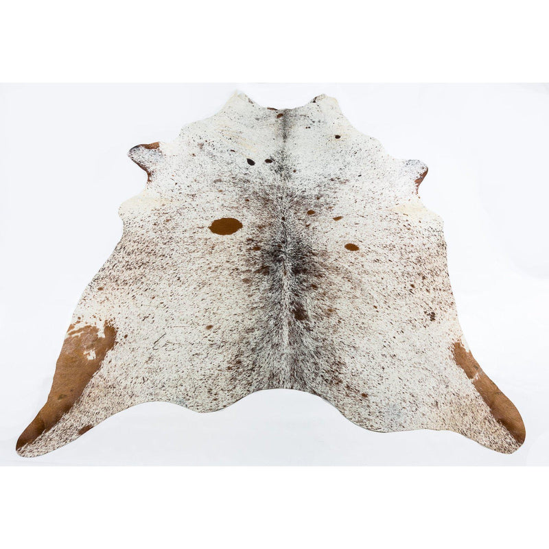 Speckled Brown Light - Brown & White Coloured Large Premium Cowhide Rug - Skin Yellow Earth Australia cow hide, indoor, rug