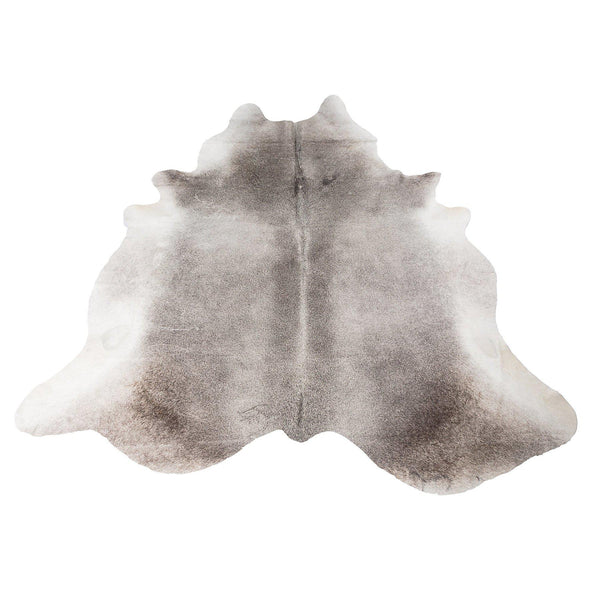 Silver Dark Grey - Grey & White Coloured Large Premium Cowhide Rug - Skin Yellow Earth Australia cow hide, indoor, rug