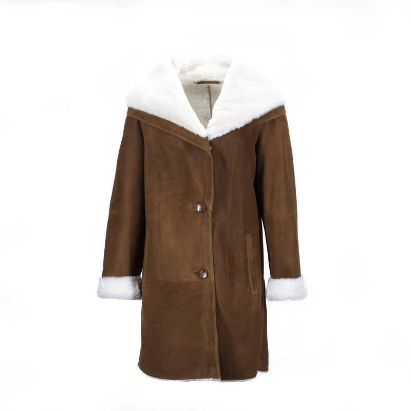 WOMENS JUDY JACKET - CHESTNUT / 40 - Unclassified Yellow Earth Australia