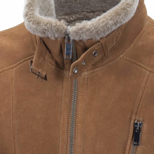 MENS MITCHAM JACKET - Apparel Yellow Earth Australia coat jacket Leather shearling