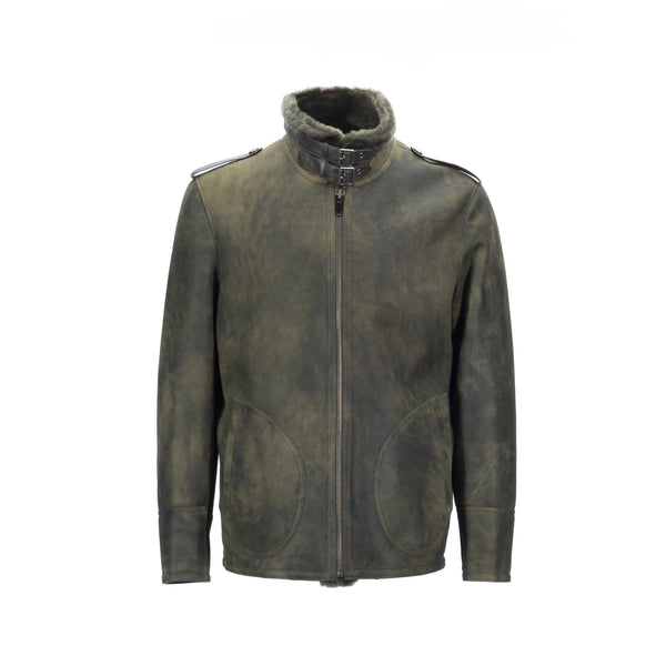 MENS WEBER JACKET - GREEN / 50 - Apparel Y.E. & CO coat jacket shearling