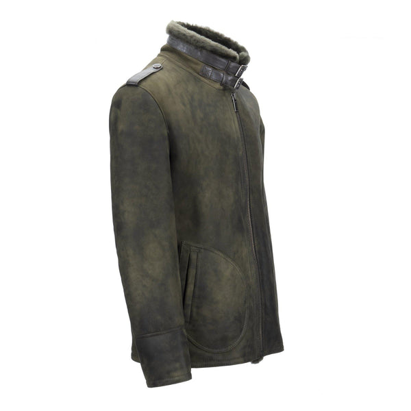 MENS WEBER JACKET - Apparel Y.E. & CO coat jacket shearling
